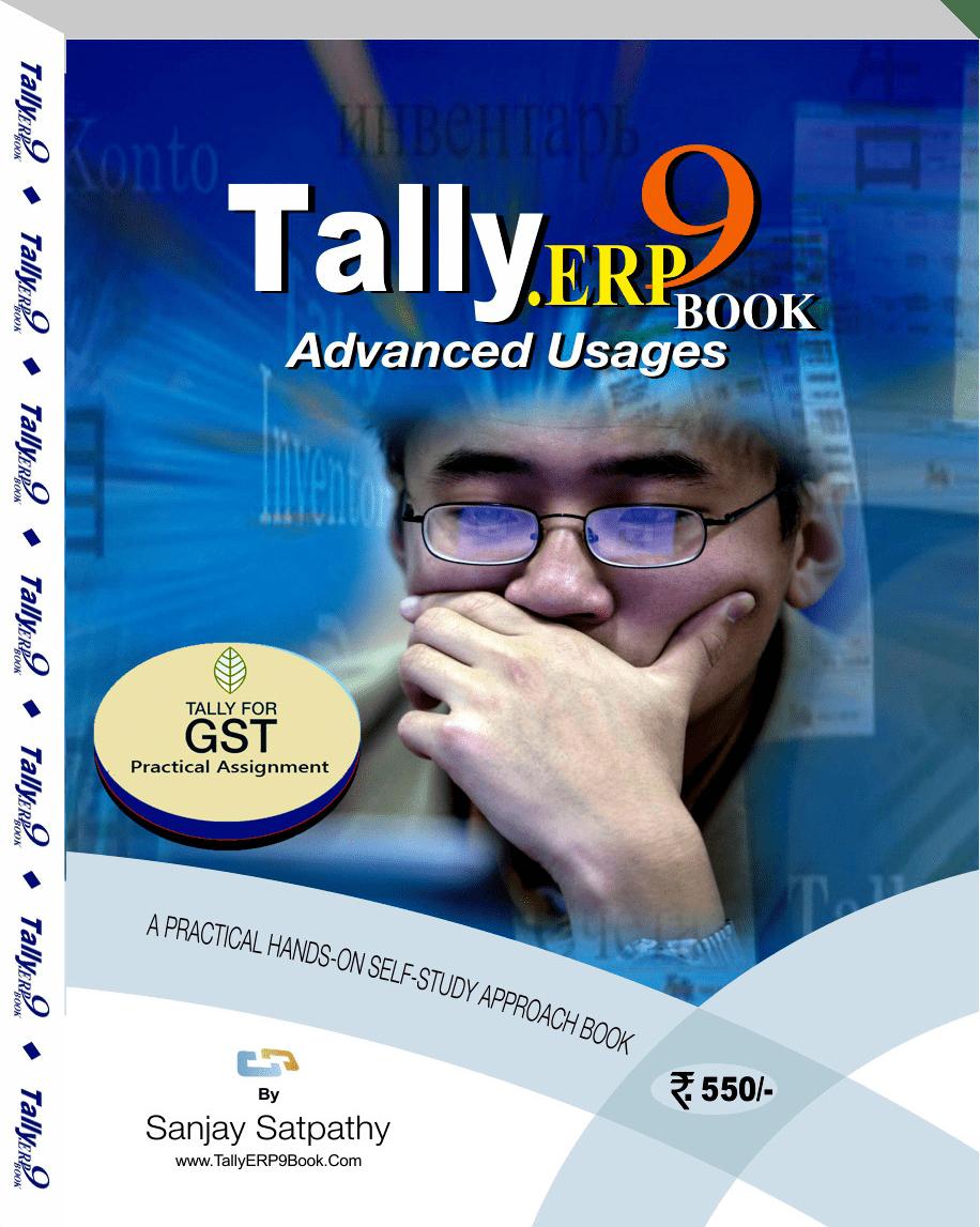 Get.. Tally.ERP9 Book @ Rs.550