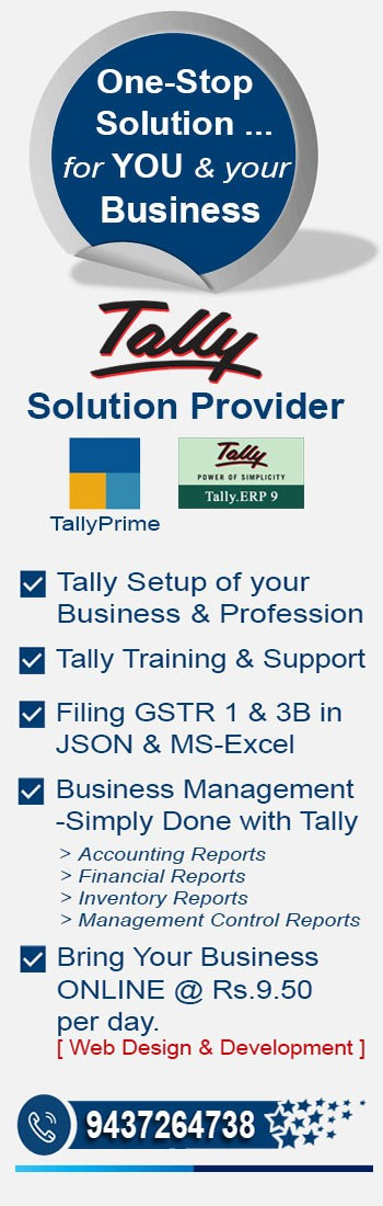 TallySolution Provider for your Business & Professions